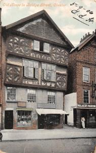England Chester, Old House in Bridge Street 1906