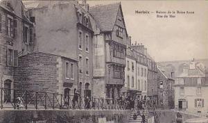 Morlaix (Finistère), France, 1900-1910s Maison de la Reine Anne , Rue du Mur
