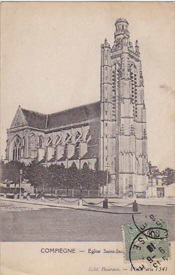 France Compiegne Eglise Saint-Jacques 1918