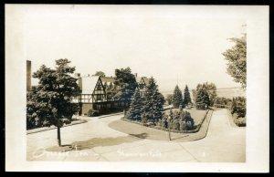 dc1247 - SHAWINIGAN FALLS Quebec 1950s Cascade Inn. Real Photo Postcard by Cote