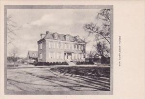 New York Van Cortlandt House Albertype