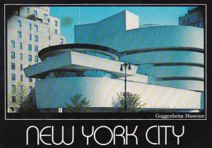New York City The Guggenheim Museum