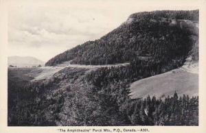 Canada Quebec Perce Mountains The Ampitheatre