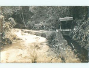 Pre-1942 rppc NICE VIEW Uruapan - Michoacan Mexico i3767