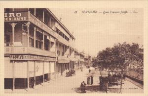 PORT_SAID, Egypt; Quai Francis Joseph, 00-10s