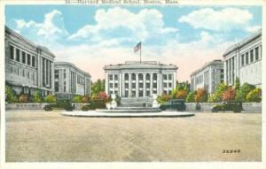 Harvard Medical School, Boston, Massachusetts 1920s unuse...