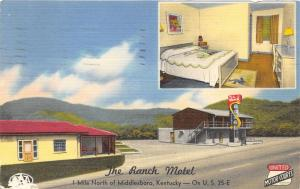 Middlesboro Kentucky~Ranch Motel (United Motor Courts)~Room & Exterior Views~'55