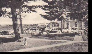 Maine East Sebago West Shore Hotel & Cottages At The Dining Room Center A...