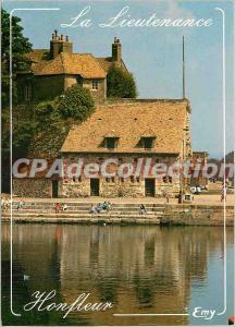 Modern Postcard Honfleur (Calvados) The Lieutenancy (XVI century) remnant of ...