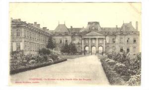 LUNEVILLE, Le Chateau vu de la Grande Allee des Bosquets, Meurthe et Moselle,...
