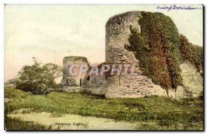 Great Britain Great Britain Old Postcard Pevensey castle