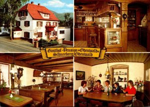 Germany Schneeberg Gasthof Pension Odenwald