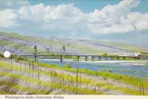 Washington-Idaho Interstate Bridge Across Snake River