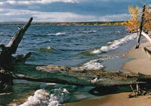 Canada Alberta Lesser Slave Lake In The Fall