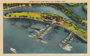 DETROIT , Michigan, 30-40s ; Yacht Club, Belle Isle