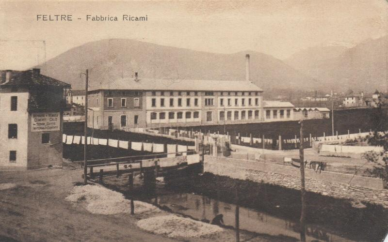 FELTRE , Italy , 00-10s ; Fabbrica Ricami