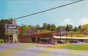 Tennessee Pulaski Sands Motor Hotel 1963