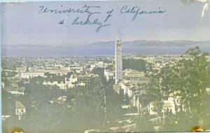 CA - Berkeley. University of California Panorama