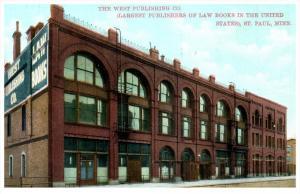 4909 MN St.Paul 1909  Tne Building of West Publishing Co.