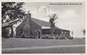 American Legion Home, Morganville, Kentucky, PU-1946