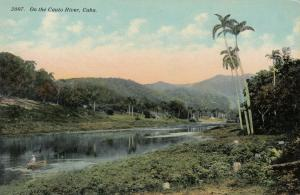 CUBA , 1900-10s; On the Cauto River