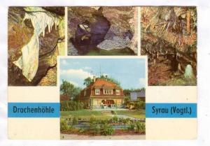 4-Views, Drachenhohle, Syrau, Vogtland, Saxony, Germany, 50-70s