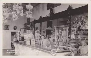 Nevada Virginia City Historic Crystal Bar Real Photo RPPC
