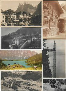 Switzerland Grindelwald Engelberg Zürich And More Postcard Lot of 20 01.13