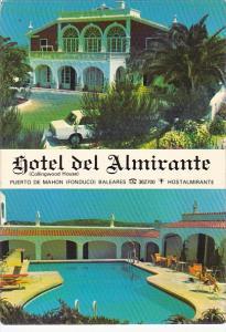 Hotel Del Almirante Villacarlos Menorca Spain