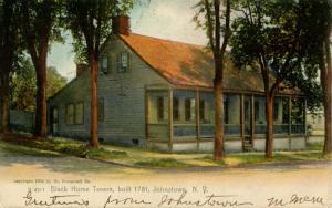 NY - Johnstown. Black Horse Tavern