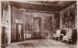 Scotland Edingurgh Palace Of Holyroodhouse Queen Mary's Audience Chamber Photo