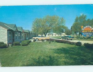 Pre-1980 MOTEL SCENE Harrisonville Missouri MO G7514