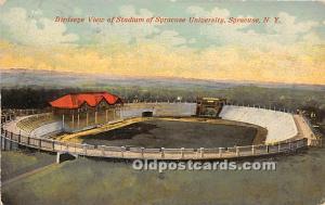 Birdseye View of Stadium, Syracuse University Syracuse, NY, USA Stadium 1915