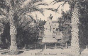 BIZERTE , Tunisia , 1910s ; Statue Massicault