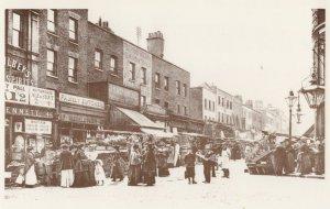 Chapel Street Islington Shops London Postcard