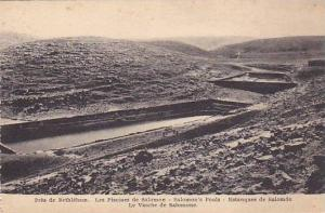 Salomon's Pools, Bethlehem, Palestine, 1900-1910s