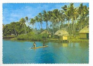 River & Village, Fiji, 60-70s