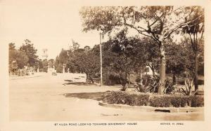 Melbourne Australia St Kilda Rd towards Government Home real photo pc Z21023