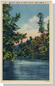 Lenoir,North Carolina/NC Postcard,Buffalo Creek/Happy Valley