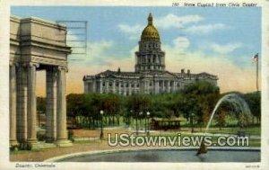 State Capitol, Civic Center - Denver, Colorado CO