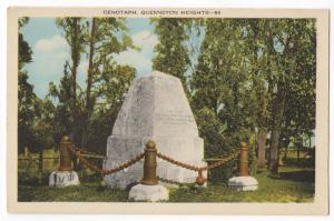 Cenotaph Queenston Heights