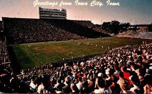 Iowa Iowa City Greetings Hawkeyes Stadium University Of Iowa