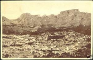 south africa, CAPE TOWN, Panorama, Table Mountain 1930s