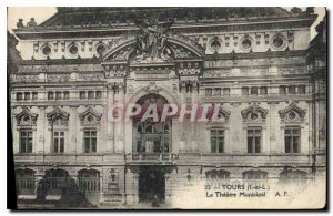 Old Postcard Towers I and L Theater Municipal