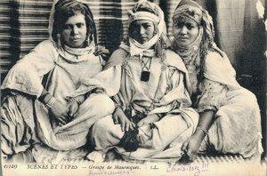 Morocco Scenes et Types Mauresques 04.44