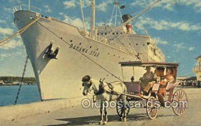 Bahama Star Ship, Ships, Postcard Post Cards  Bahama Star
