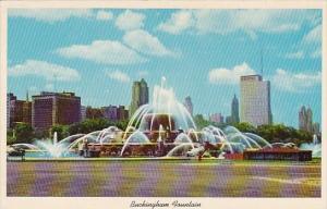Clarence Buckingham Memorial Fountain Grant Park Chicago Illinois