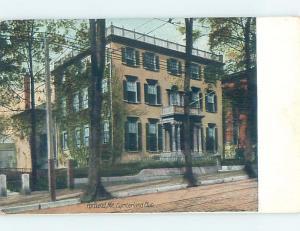 Divided-Back HISTORIC HOME Portland Maine ME d2127