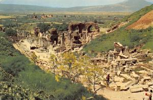 Turkey Egenin Incisi Izmir Ephesus Curetiae Strect Ruins Postcard