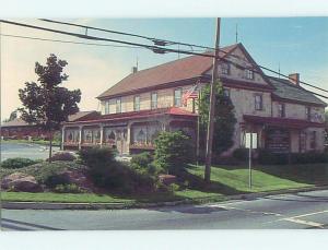 Unused Pre-1980 BRICKERVILLE HOUSE RESTAURANT Lititz Pennsylvania PA s0888